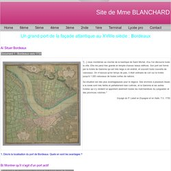 Bordeaux, un grand port atlantique