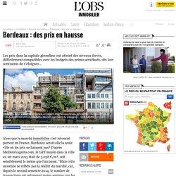 Bordeaux : des prix en hausse- 3 avril 2015 - Immobilier