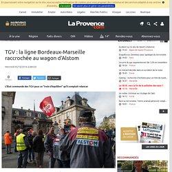 TGV : la ligne Bordeaux-Marseille raccrochée au wagon d'Alstom