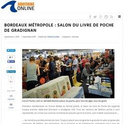Bordeaux Métropole : Salon du Livre de Poche de Gradignan