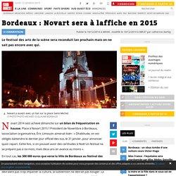 Bordeaux : Novart sera à laffiche en 2015