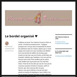 Le bordel organisé ♥ – Princesse Soso