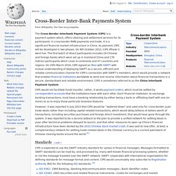 Cross-Border Inter-Bank Payments System - Wikipedia