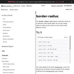 -moz-border-radius - MDC