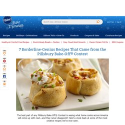 7 Borderline-Genius Recipes That Came from the Pillsbury Bake-Off® Contest