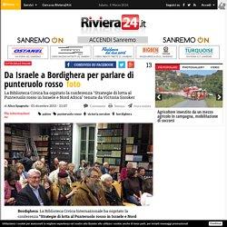 Da Israele a Bordighera per parlare di punteruolo rosso - Riviera24