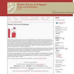 Bordón. Revista de Pedagogía (WoS)
