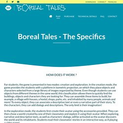 Boreal Tales - The Specifics