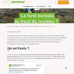 La forêt boréale, auboutdu rouleau ? - Greenpeace France