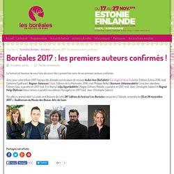 Boréales 2017 : les premiers auteurs confirmés !