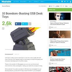10 Boredom-Busting USB Desk Toys