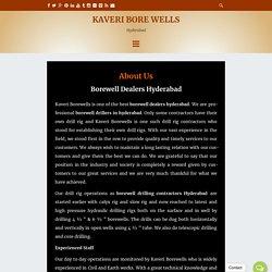 Borewell dealers Hyderabad