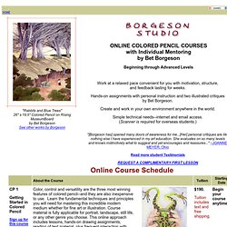 Borgeson Studio Online Drawing Courses