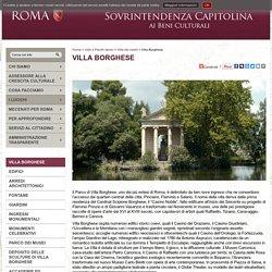 Villa Borghese / Ville dei nobili / Ville e Parchi storici - Sovrintendenza