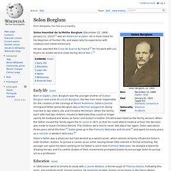 Solon Borglum