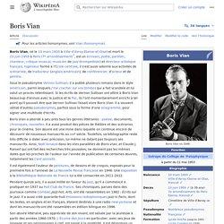 Boris Vian