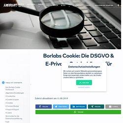 Borlabs Cookie: Die DSGVO & E-Privacy Opt-in-Lösung für WordPress