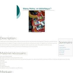 Borne d'écoute avec MakeyMakey - Lab en Bib