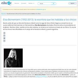 Elsa Bornemann (1952-2013): la escritora que les hablaba a los chicos - Educ.ar