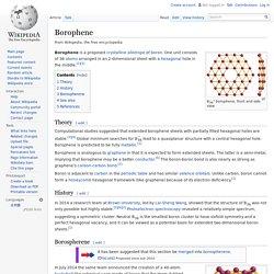 Borophene