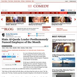 Andy Borowitz: Slain Al-Qaeda Leader Posthumously Named Employee
