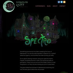 Borrowed Light Studios » Spectro