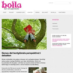 Genus det bortglömda perspektivet i debatten - Bolla