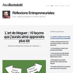 Alex Bortolotti - Lisez, cogitez et passez au niveau supérieur