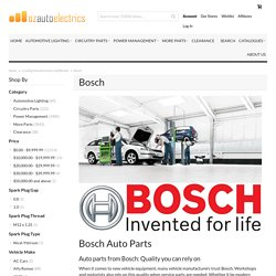 Bosch Automotive Parts Supplier