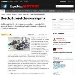 Bosch, il diesel che non inquina
