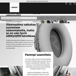 QC35 -kuulokkeet – langattomat kuulokkeet