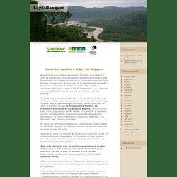 Ley de Bosques - Greenpeace Argentina