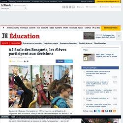 A l'école des Bosquets, les élèves participent aux décisions