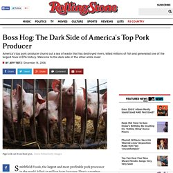 Pork's Dark Side