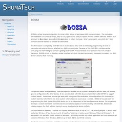BOSSA | shumatech.com