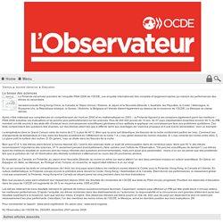 La bosse des sciences - Observateur OCDE