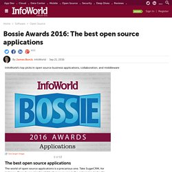 Bossie Awards 2016: The best open source applications
