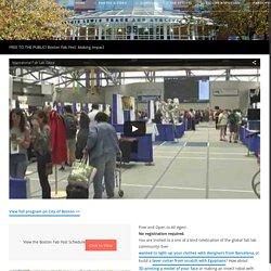Boston Fab Fest: Making Impact