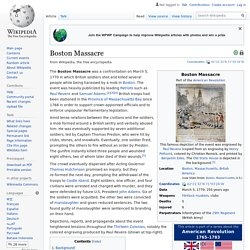Boston Massacre - Wikipedia