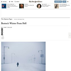Boston's Winter From Hell