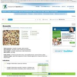 La boswellie pour soulager l'inflammation causée par l'arthrose