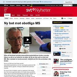Ny bot mot obotliga MS