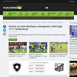 Soi kèo, dự đoán Botafogo vs Bragantino, 6h00 ngày 17/11 VĐQG Brazil