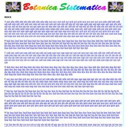 Botanica Sistematica