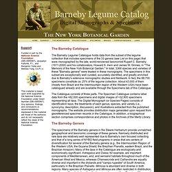 Rupert Barneby Catalog