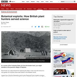 Botanical exploits: How British plant hunters served science