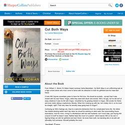 Cut Both Ways - Carrie Mesrobian - E-book