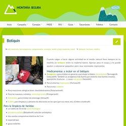 Botiquín - Montaña Segura