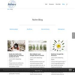 Blog de Botners: conseils de pro pour améliorer ou créer votre site !