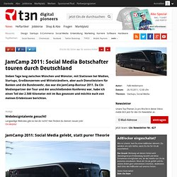 JamCamp 2011: Social Media Botschafter touren durch Deutschland